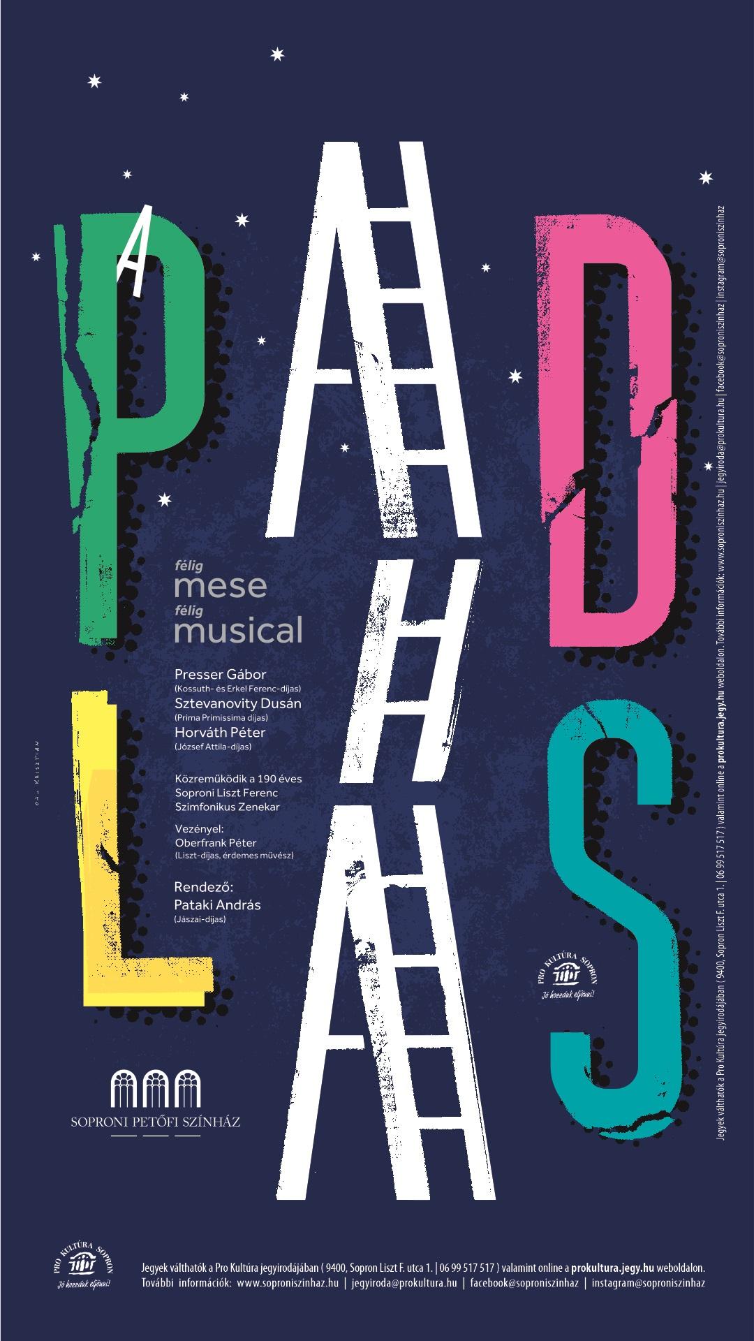 A 2020-as soproni előadás plakátja